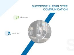 Successful Employee Communication Ppt Pictures Example