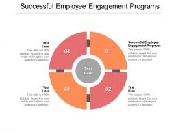 Successful Employee Engagement Programs Ppt Powerpoint Presentation Pictures Slides Cpb