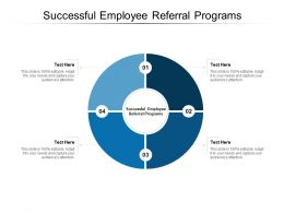 Successful Employee Referral Programs Ppt Powerpoint Presentation File Aids Cpb