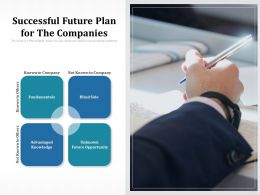 Successful Future Plan For The Companies