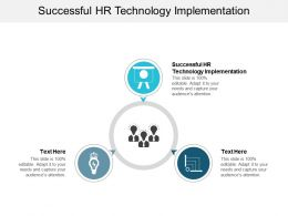 Successful HR Technology Implementation Ppt Powerpoint Presentation Show Cpb