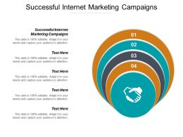 Successful Internet Marketing Campaigns Ppt Powerpoint Presentation Pictures Shapes Cpb