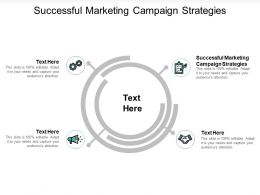 Successful Marketing Campaign Strategies Ppt Powerpoint Presentation Slides Examples Cpb