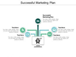 Successful Marketing Plan Ppt Powerpoint Presentation Inspiration Deck Cpb