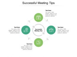 Successful Meeting Tips Ppt Powerpoint Presentation Slides Rules Cpb