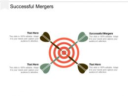 Successful Mergers Ppt Powerpoint Presentation Inspiration Demonstration Cpb