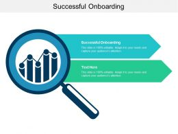 Successful Onboarding Ppt Powerpoint Presentation Styles Graphics Cpb