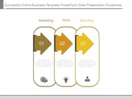 Successful Online Business Template Powerpoint Slide Presentation Guidelines