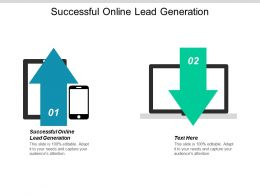 Successful Online Lead Generation Ppt Powerpoint Presentation Slides Structure Cpb