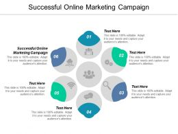 Successful Online Marketing Campaign Ppt Powerpoint Presentation Ideas Deck Cpb