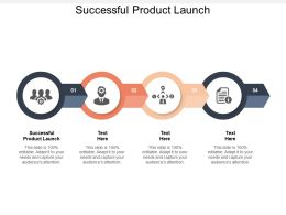 Successful Product Launch Ppt Powerpoint Presentation Gallery Clipart Images Cpb