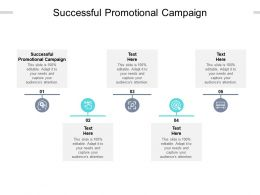 Successful Promotional Campaign Ppt Powerpoint Presentation Gallery Examples Cpb