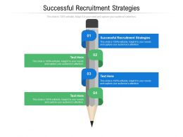Successful Recruitment Strategies Ppt Powerpoint Presentation Slides Structure Cpb