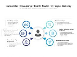 Successful Resourcing Flexible Model For Project Delivery