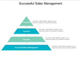 Successful Sales Management Ppt Powerpoint Presentation Icon Clipart Cpb