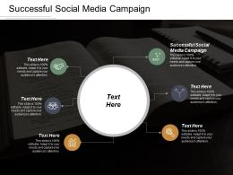 Successful Social Media Campaign Ppt Powerpoint Presentation Icon Model Cpb