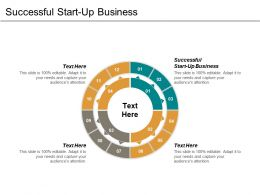 Successful Start Up Business Ppt Powerpoint Presentation Icon Demonstration Cpb