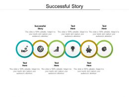 Successful Story Ppt Powerpoint Presentation Layouts Background Designs Cpb