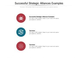 Successful Strategic Alliances Examples Ppt Powerpoint Presentation Outline Structure Cpb