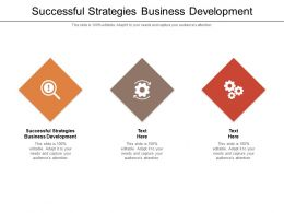 Successful Strategies Business Development Ppt Powerpoint Presentation Outline Information Cpb