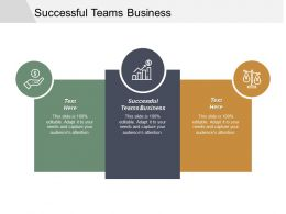 Successful Teams Business Ppt Powerpoint Presentation Outline Deck Cpb