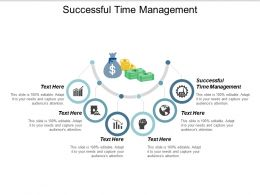 Successful Time Management Ppt Powerpoint Presentation Model Show Cpb