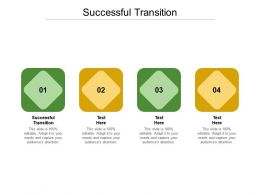Successful Transition Ppt Powerpoint Presentation Infographic Template Master Slide Cpb