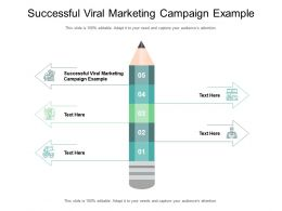 Successful Viral Marketing Campaign Example Ppt Powerpoint Presentation Styles Designs Cpb