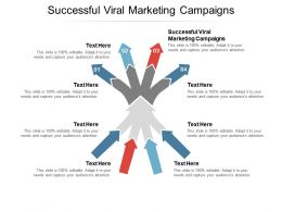 Successful Viral Marketing Campaigns Ppt Powerpoint Example Cpb
