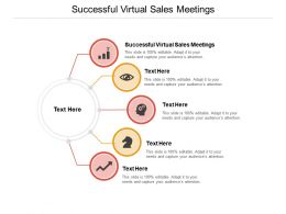 Successful Virtual Sales Meetings Ppt Powerpoint Presentation Icon Graphic Tips Cpb