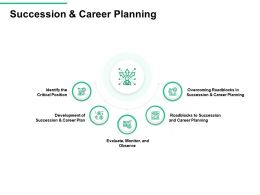 Succession And Career Planning Overcoming Roadblocks Ppt Powerpoint Presentation Ideas