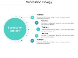 Succession Biology Ppt Powerpoint Presentation Summary Infographic Template Cpb