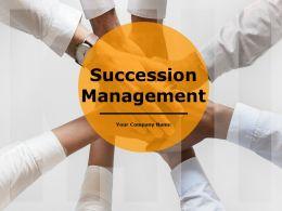 Succession Management Powerpoint Presentation Slides