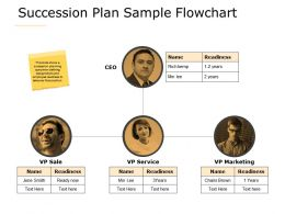 Succession Plan Sample Flowchart A621 Ppt Powerpoint Presentation File Objects