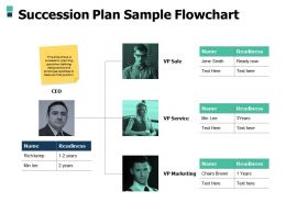 Succession Plan Sample Flowchart Planning A506 Ppt Powerpoint Presentation Professional Topics
