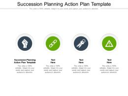 Succession Planning Action Plan Template Ppt Powerpoint Presentation Inspiration Mockup Cpb