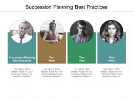 Succession Planning Best Practices Ppt Slides Designs Download Cpb