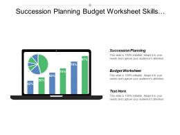 Succession Planning Budget Worksheet Skills Matrix Annual Budgeting Cpb