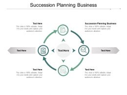Succession Planning Business Ppt Powerpoint Presentation Ideas Vector Cpb