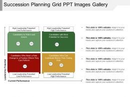 Succession Planning Grid Ppt Images Gallery