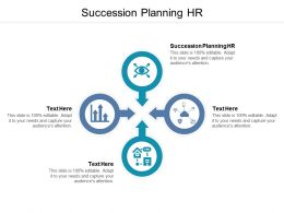 Succession Planning Hr Ppt Powerpoint Presentation Pictures Show Cpb