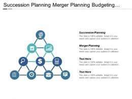 Succession Planning Merger Planning Budgeting Models Client Monitoring Cpb