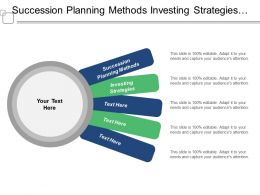 Succession Planning Methods Investing Strategies Acquisition Management Financial Planning Cpb