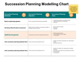 Succession Planning Modelling Chart Ppt Powerpoint Presentation Infographic Template Backgrounds