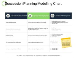Succession Planning Modelling Chart Staff Development Ppt Powerpoint Presentation Ideas