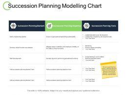 Succession Planning Modelling Chart Staff Development Ppt Powerpoint Presentation Ideas
