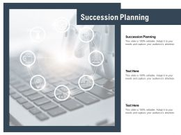 Succession Planning Ppt Powerpoint Presentation Infographic Template Clipart Cpb