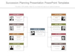 Succession Planning Presentation Powerpoint Templates
