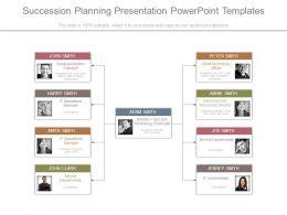 Succession Planning Presentation Powerpoint Templates