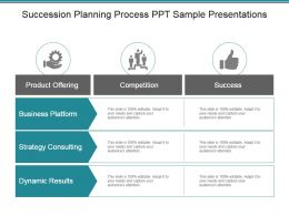 Succession Planning Process Ppt Sample Presentations